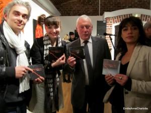 Jean Emeric Danco, Patsy et EmilieAnneCharlotte pour la sortie de l'album de Fred Alan Ponthieux.