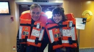 Amaury gonzague m'apprend les règles de sécurité en mer