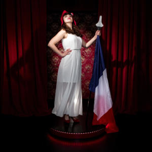 EmilieAnneCharlotte - Marianne - Photographe : Didier Pallages - Copyright: www.pallages.com