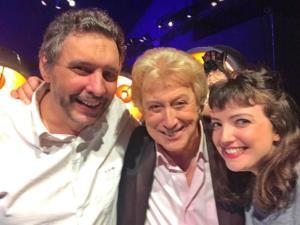 Jean Marc Chevauché, Michel Pruvot, et EmilieAnneCharlotte.